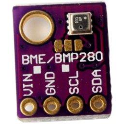 BME280 - senzor vhlhkosti, teploty, tlaku na I2C zbernici